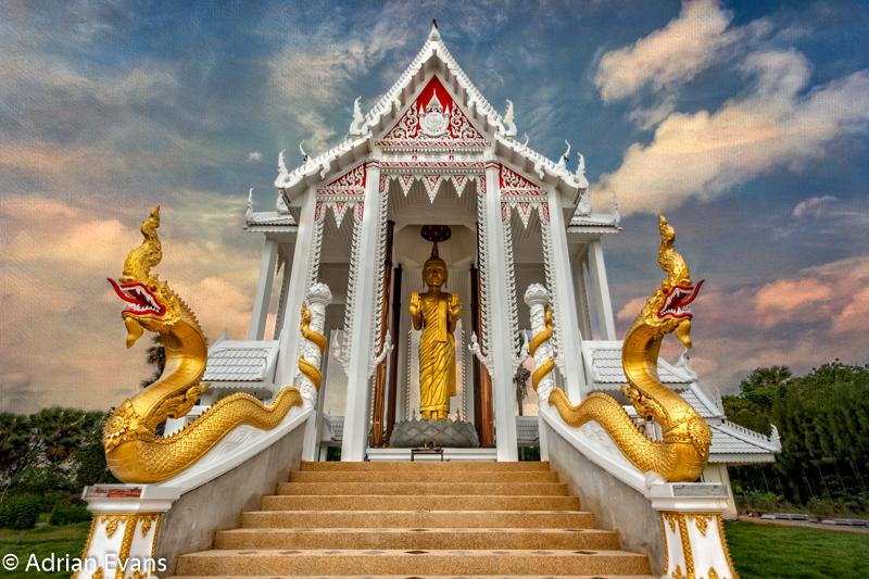 Pranburi temple near Hua Hin Thailand.